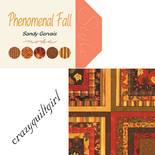 Moda PHENOMENAL FALL Quilt Fabric by Sandy Gervais