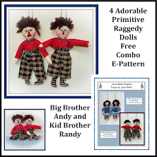 Big Brother Andy & Kid Brother Randy Free<br> E-Pattern