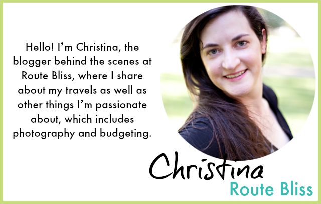 Christina from Route Bliss
