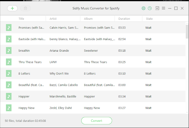 Download Sidify Spotify Music Converter 1.3.3 Full Version