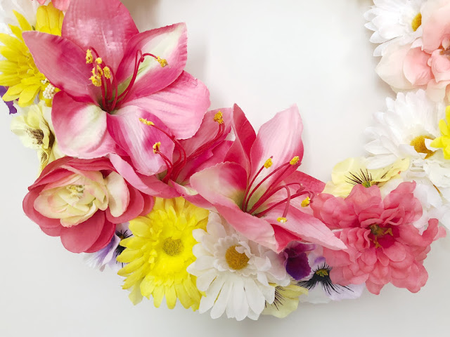 Spring Wreath DIY for Mothers Day