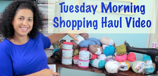 Tuesday Morning July 2014 Haul & GIVEAWAY!