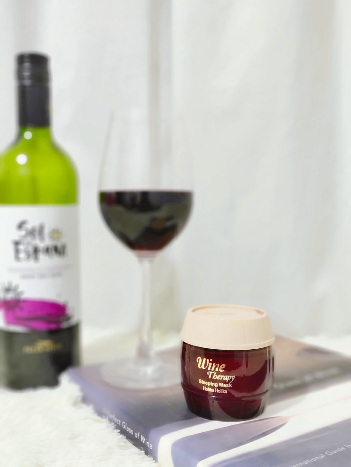 Review: Holika Holika Wine Therapy Sleeping Mask