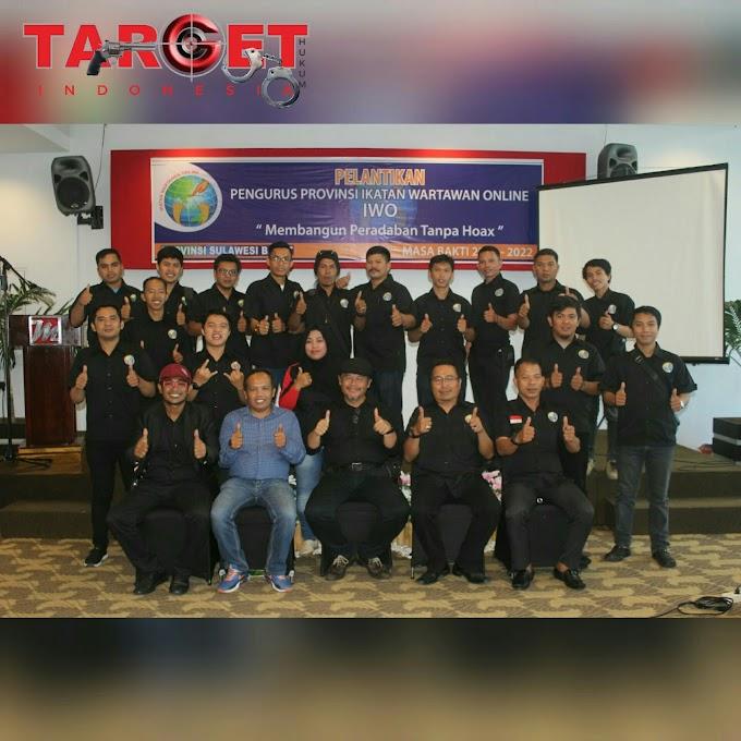 Pengurus Wilayah Ikatan Wartawan Online DPW IWO Sulbar Resmi Dilantik