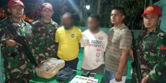 Lagi, Tiga Pemuda Diamankan Satgas Yonif PR 501 Kostrad