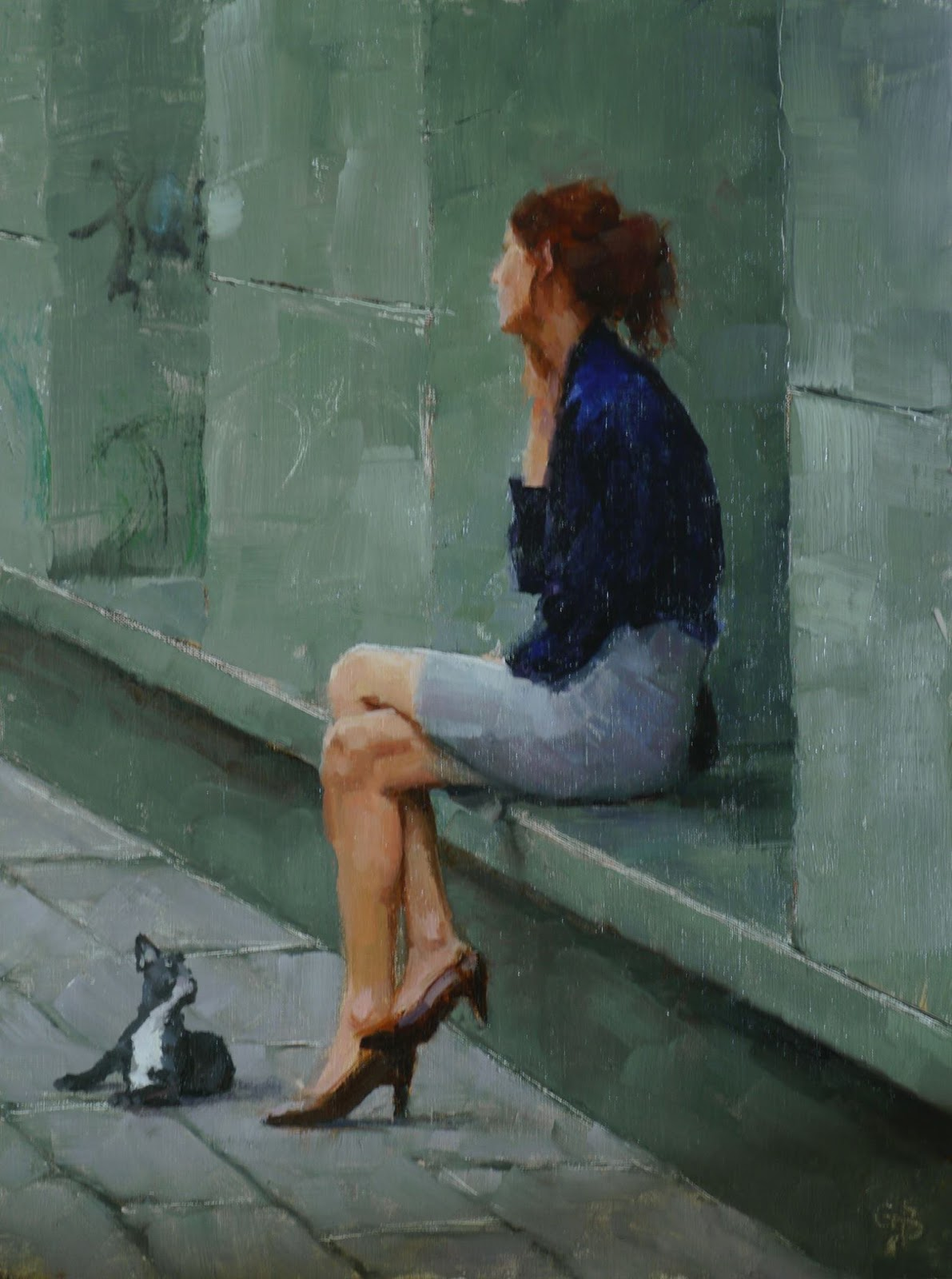Oil Paintings by George Bodine