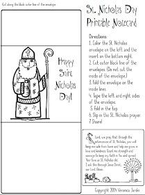 Paper Dali: Saint Nicholas: Free Coloring Page and Printable | 280x209