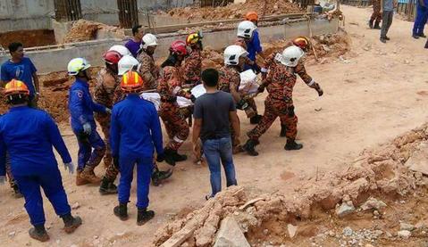 Sebelas Pekerja Asing Tewas Akibat Tanah Longsor di Malaysia