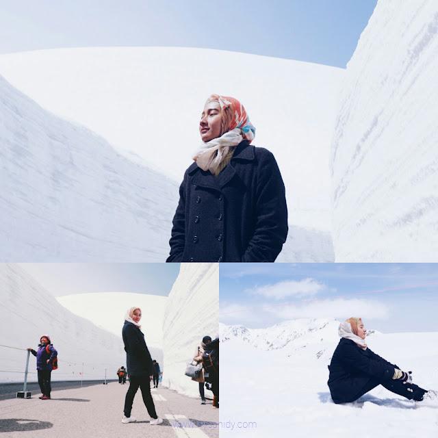 yuki no otani snow wall tateyama kurobe alpine route