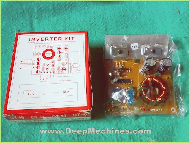 Alat INVERTER AKI Mobil DC 12V ke 18V CT Audio Power pada Mobil