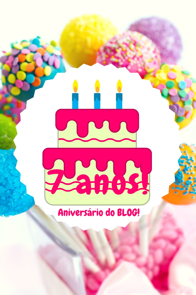 aniversario do blog