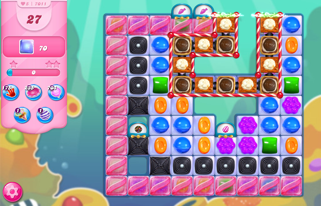 Candy Crush Saga level 7011