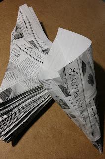 cucurucho de papel