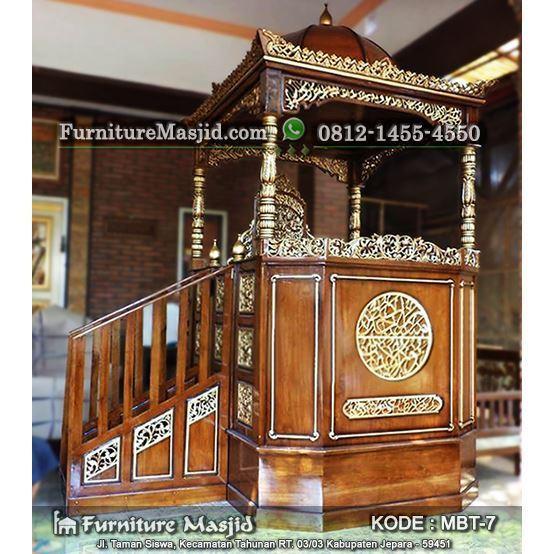 86 Gambar Mimbar Masjid Minimalis Murah dan Sederhana ...