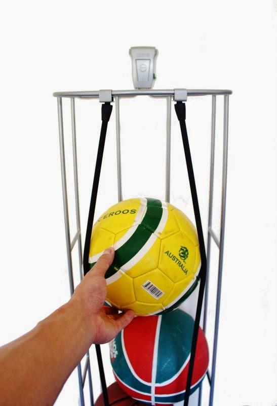 Suporte 6 Bolas Fitball Ajustavel Uplift Rythmoon 9726e0367398a