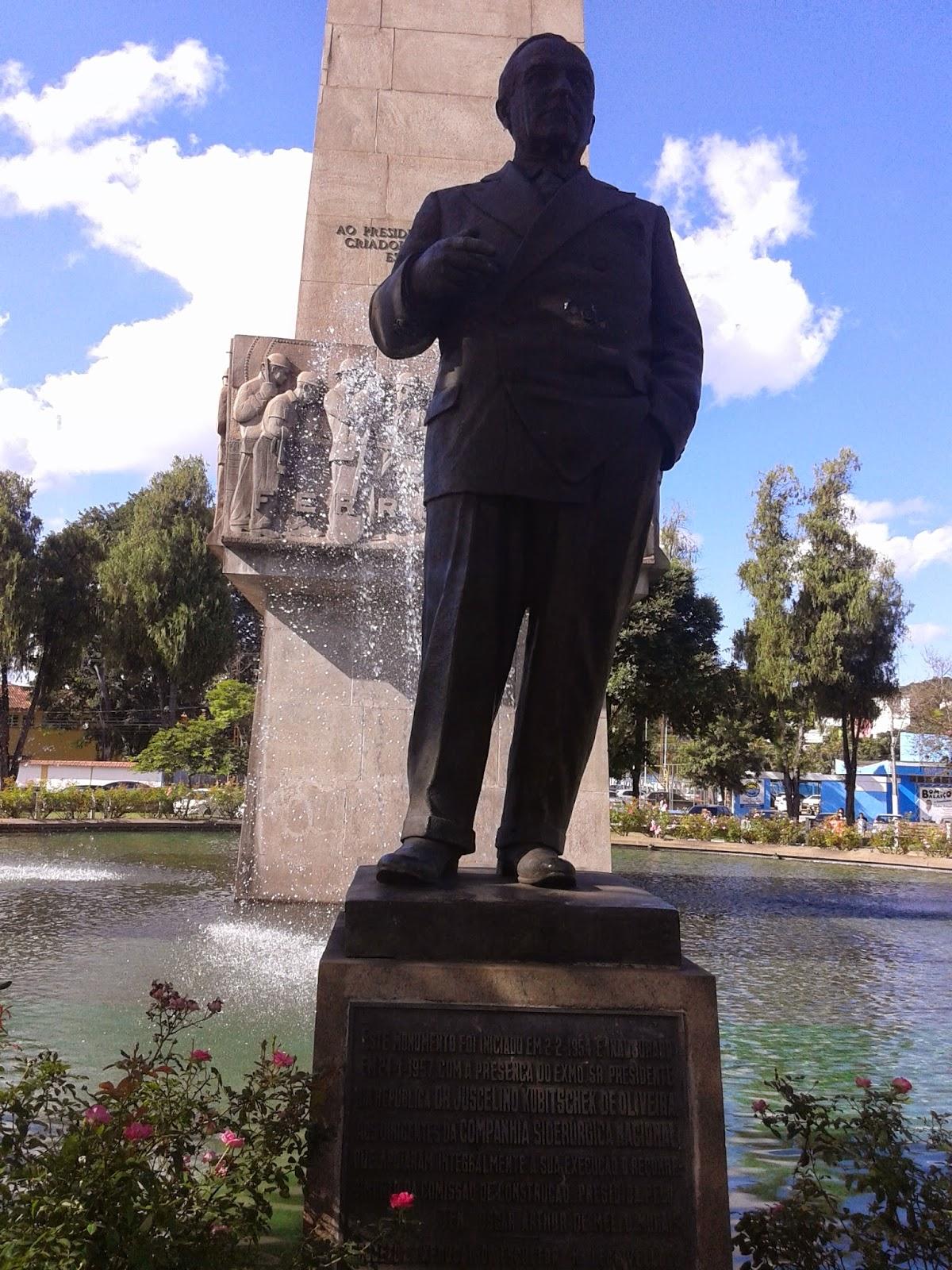 Monumento em homenagem ao ex-presidente Getúlio Vargas