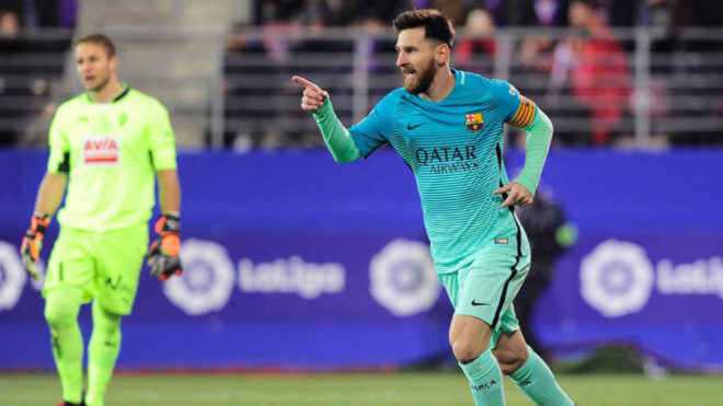 Magical Messi bashes Basques