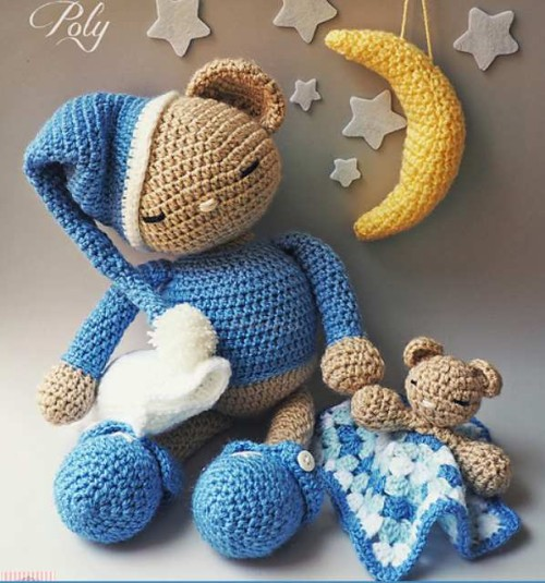 Teddy Bear Poly - Free Pattern