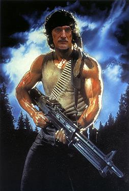 el villano arrinconado, humor, chistes, reir, satira, Rambo