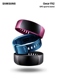Samsung umumkan Gear Fit 2 dengan built GPS tracking