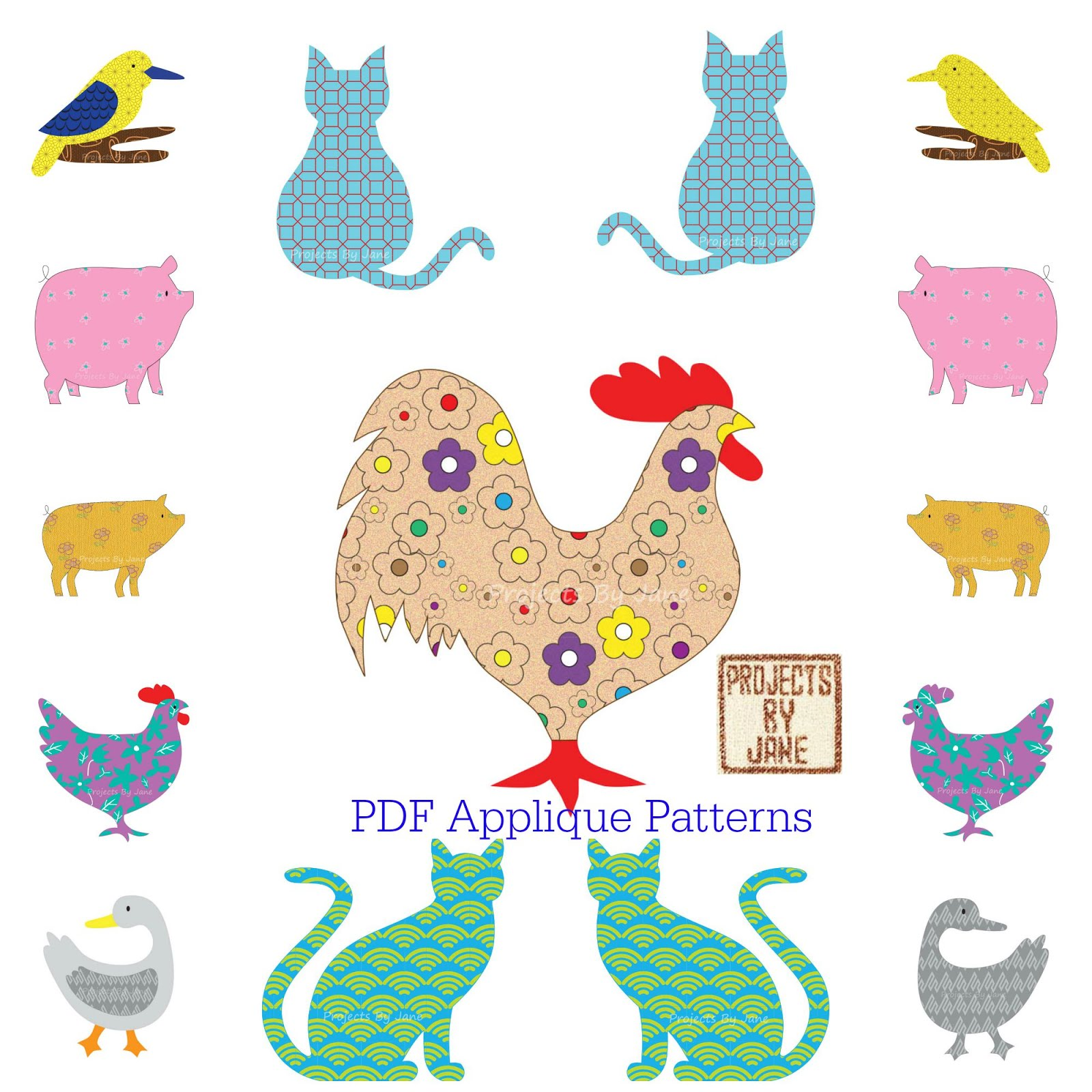 APPLIQUE PATTERNS