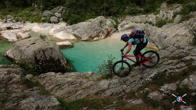 Biken in Slowenien Vas na Skali