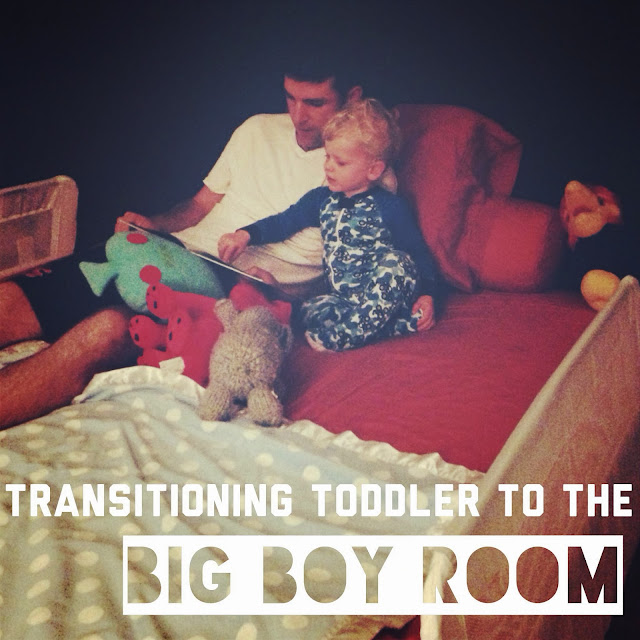 Transition toddler from nursery to new room and bed