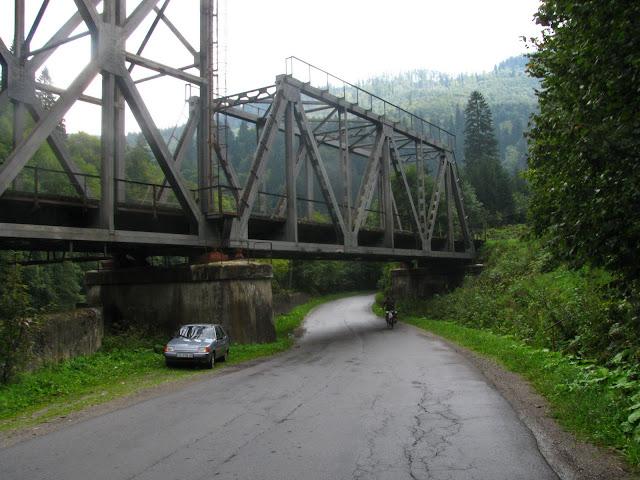 Закарпатская область, жд мост
