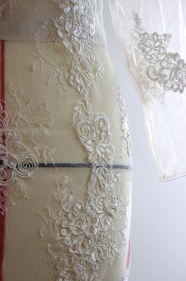 robe de mariée sur mesure par couturière à Versailles 78