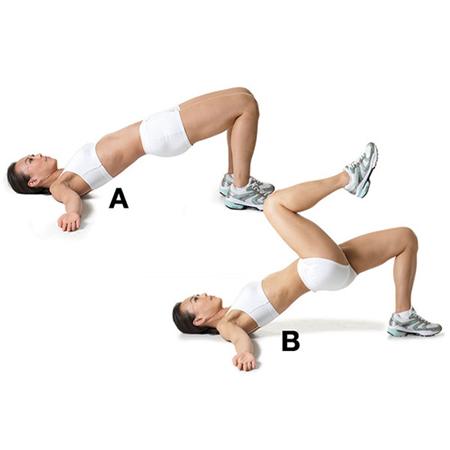 Cách giảm béo hông và eo hiệu quả bằng các bài tập