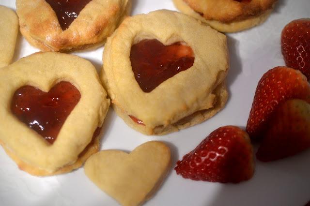 Shirley Goode's Homemade Jammy Dodgers Recipe Biscuits cookies