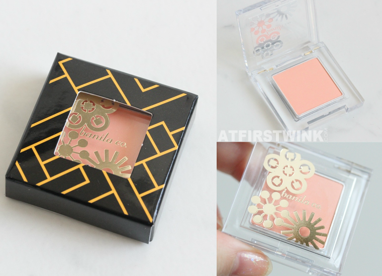 banila co. The Great Love single eyeshadow OR01 packaging