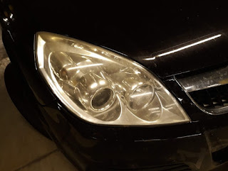 Vectra C headlight