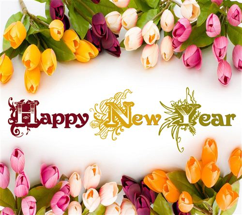 Happy New Year 2016 Flowers Pictures
