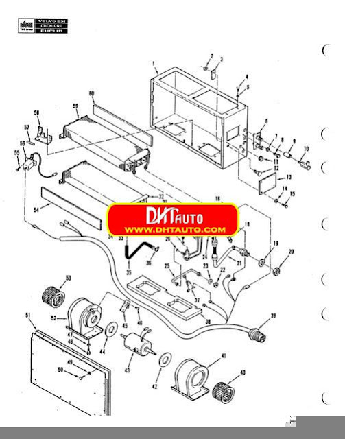 Free Automotive Manuals: Volvo Wheel Loaders L270B Parts