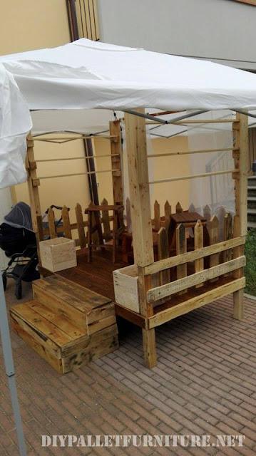 Mueblesdepaletsnet Stand para ferias de palets