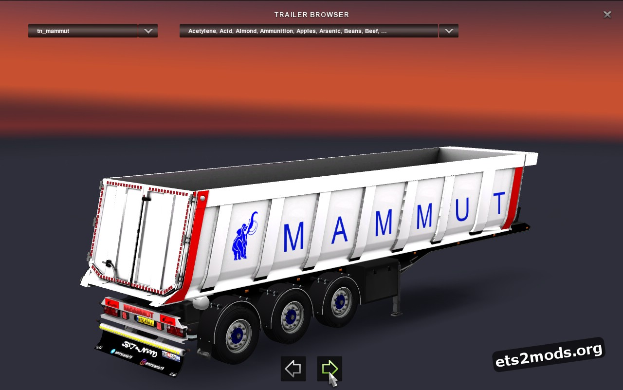 Trailer Mamut Dumpper
