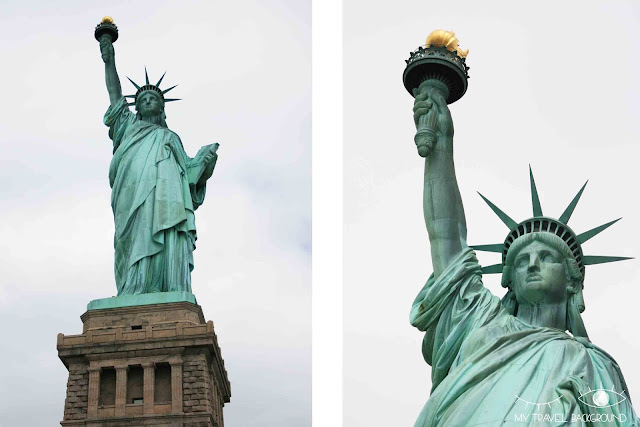 My Travel Background : la Statue de la Liberté, New York