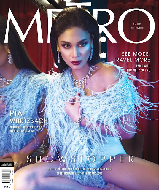 Pia Wurtzbach Metro May 2018 Cover Girl