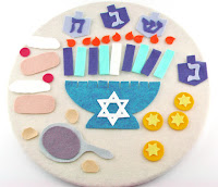 Hanukkah Chanukah Flannel Board