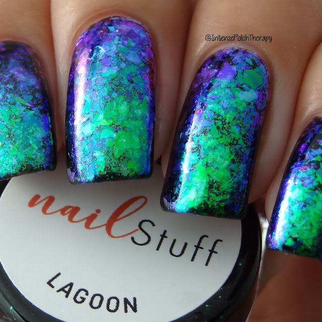 Lagoon Nail Flakes from NailStuff.ca