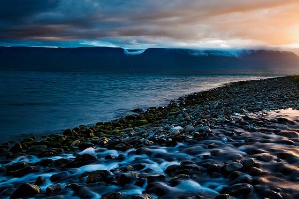 Iceland - Akureyri: Pastel Light by John & Tina Reid