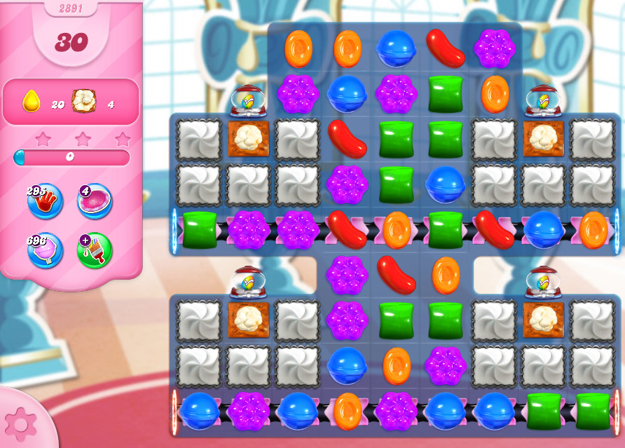Candy Crush Saga level 2891