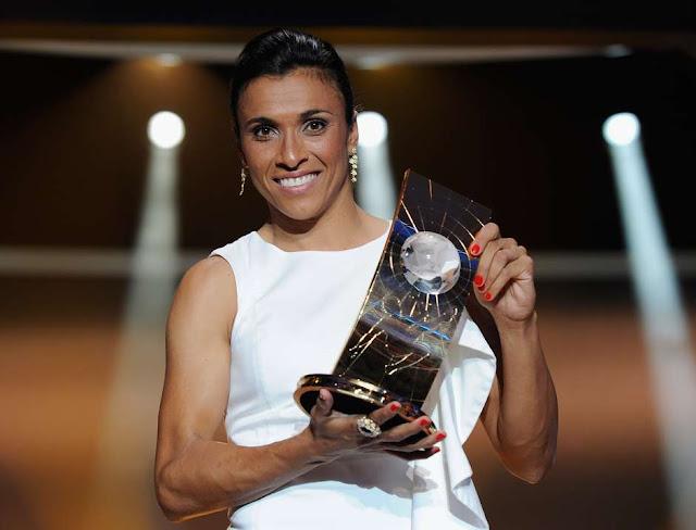 Marta, melhor jogadora de futebol de todos os tempos