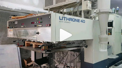 Mesin Cetak Komori Lithrone L440 VIDEO