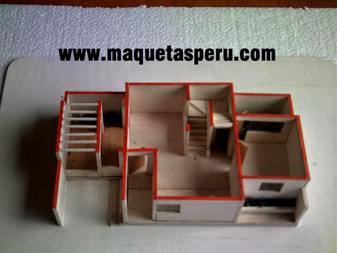 Maquetas escolares cel 977524113 whatsapp como hacer for Diseno de apartamentos para estudiantes