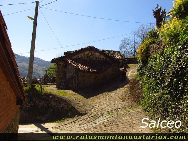 Calles de Salceo, Quirós