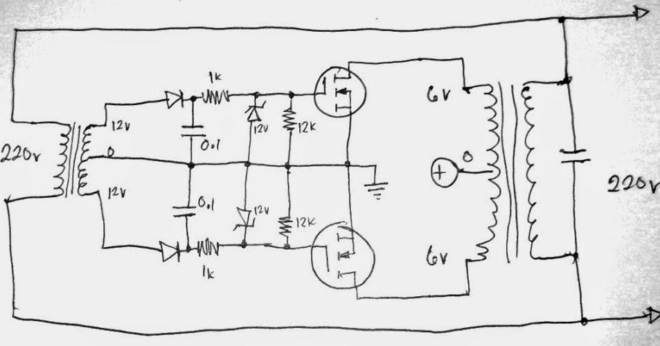 Simplest Grid-tie Inverter (GTI) Circuit Using SCR - Circuit ... on