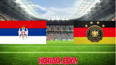 مشاهدة البث المباشر لمباراة ألمانيا وصربيا اليوم 2019/3/20 استعدادا لتصفيات أمم أوروبا