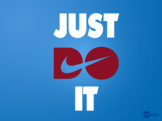 Just do it Nike Brand Logo Typography Simple HD Wallpaper